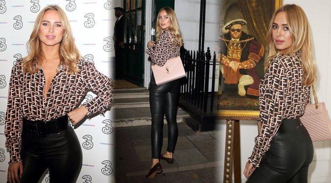 Kimberley Garner – Portr8's Three Mobiles VIP Gallery Launch in London