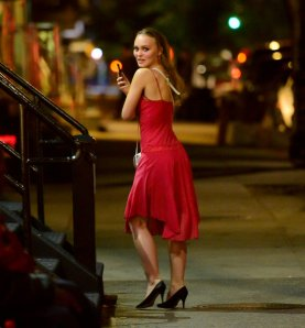 Lily Rose Depp Sexy Nightout
