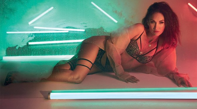 Megan Fox- Frederick's of Hollywood Lingerie Fall 2018 Collection