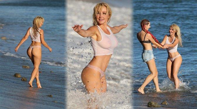 Nikki Lund – Sexy Wet Photoshoot in Malibu
