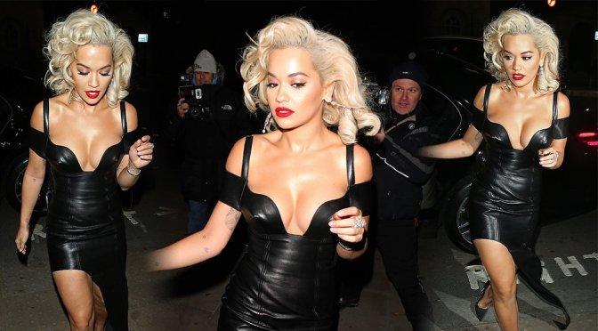 Rita Ora – UNICEF Halloween Ball in London