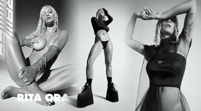 Rita Ora – Clash Magazine Topless Photoshoot (Autumn 2018)