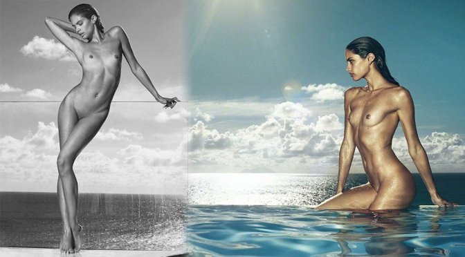"""Sara Sampaio – """"Angels"""" Naked Photoshoot by Russell James (NSFW)"""