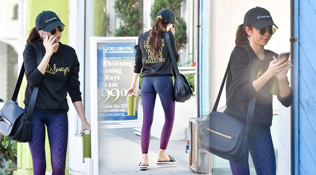 Sarah Hyland - Sexy Candids in Los Angeles