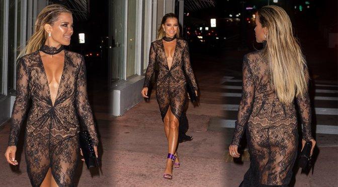 Sylvie Meis – Sexy Candids in Miami