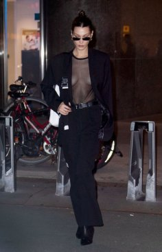 Bella Hadid Brales Night Out