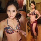 Danica Mckellar Dressed As Slave Leia
