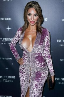 Farrah Abraham Braless And Pantyless