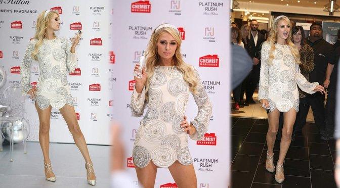 "Paris Hilton- ""Platinum Rush"" Fragrance Launch in Melbourne"