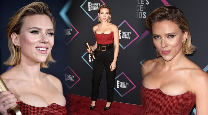 Scarlett Johansson – People's Choice Awards 2018 in Santa Monica