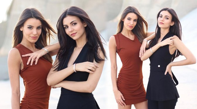 Victoria Justice & Madison Reed – Photoshoot by Sharon Litz