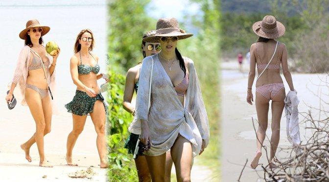 Alessandra Ambrosio – Bikini Candids in Florianopolis