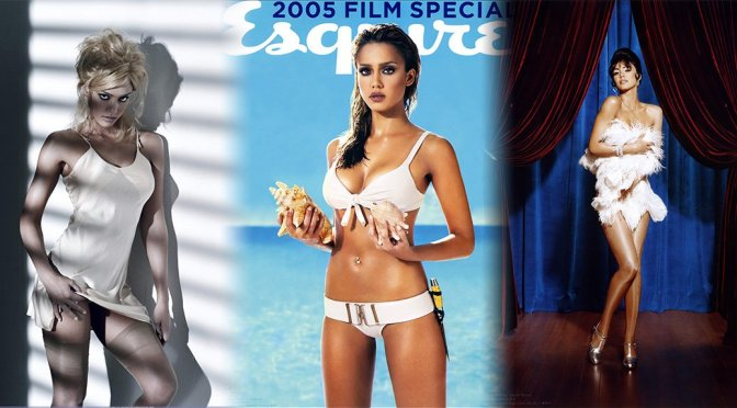 Jessica Alba – Esquire Magazine 2005 Photoshoot by Gavin Bond