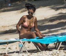 Maya Jama Sexy Bikini Body