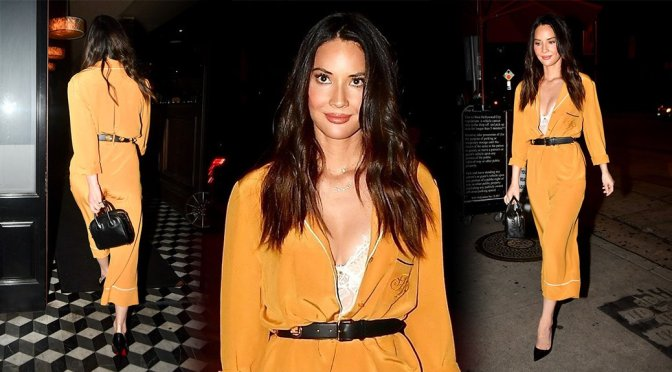 Olivia Munn at Craig's in West Hollywood