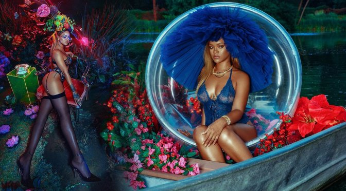 Rihanna – SavageXFenty Lingerie Photoshoot