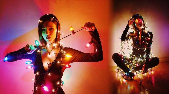 Victoria Justice – Holiday Lights Photoshoot