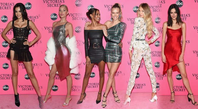 Various Models – 2018 Victoria's Secret Viewing Party in New York