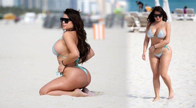 Anastasiya Kvitko – Bikini Photoshoot in Miami