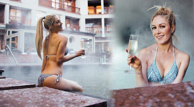 Heidi Montag – Bikini Photoshoot in Aspen