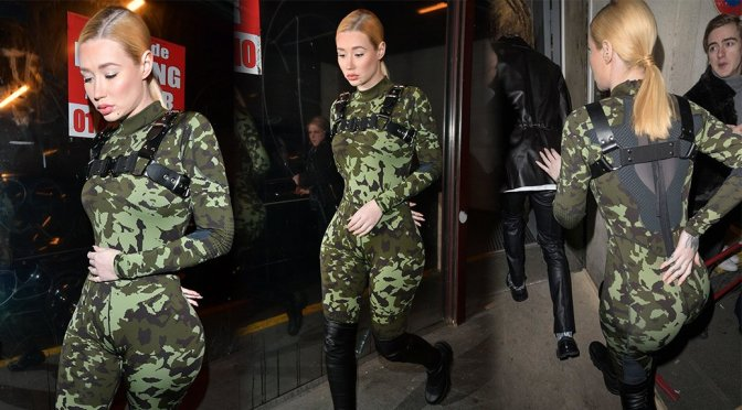 Iggy Azalea – Sexy Celebs in Paris