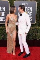 Irina Shayk Sexy Sheer Dress