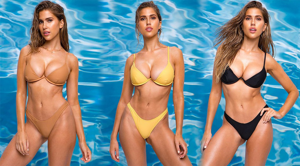 Kara Del Toro - A'Gaci Beachwear 2019 Collection