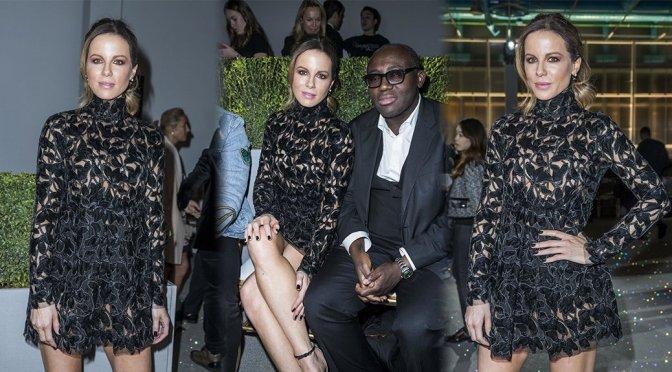Kate Beckinsale – Giambattista Valli Haute Couture SS 2019 Fashion Show in Paris