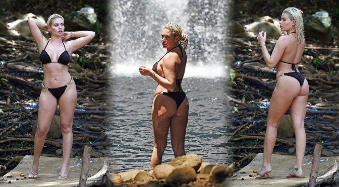 Megan Barton Hanson – Bikini Photoshoot in Mauritius