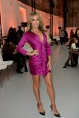 Sylvie Meis Sexy Low Cut Dress