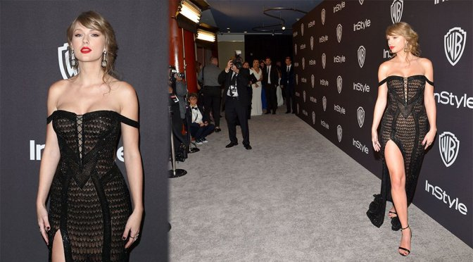 Taylor Swift – InStyle and Warner Bros Golden Globes After Party