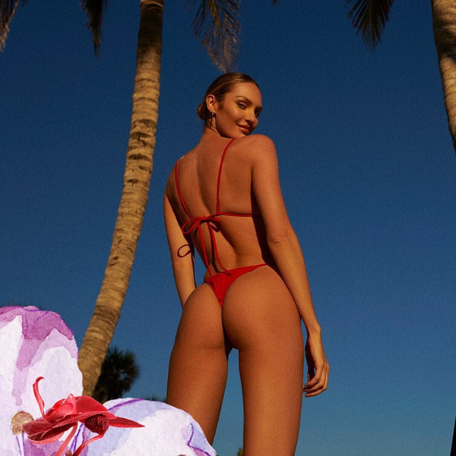 Candice Swanepoel Sexy Ass