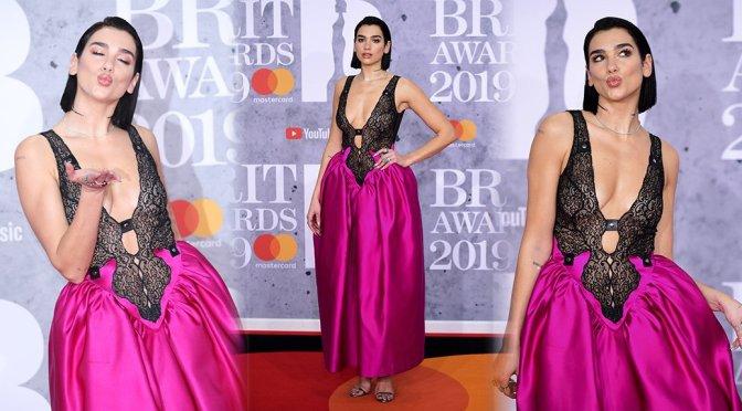 Dua Lipa – Brit Awards 2019 in London