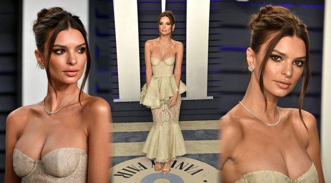 Emily Ratajkowski – 2019 Vanity Fair Oscar Party in Beverly Hills