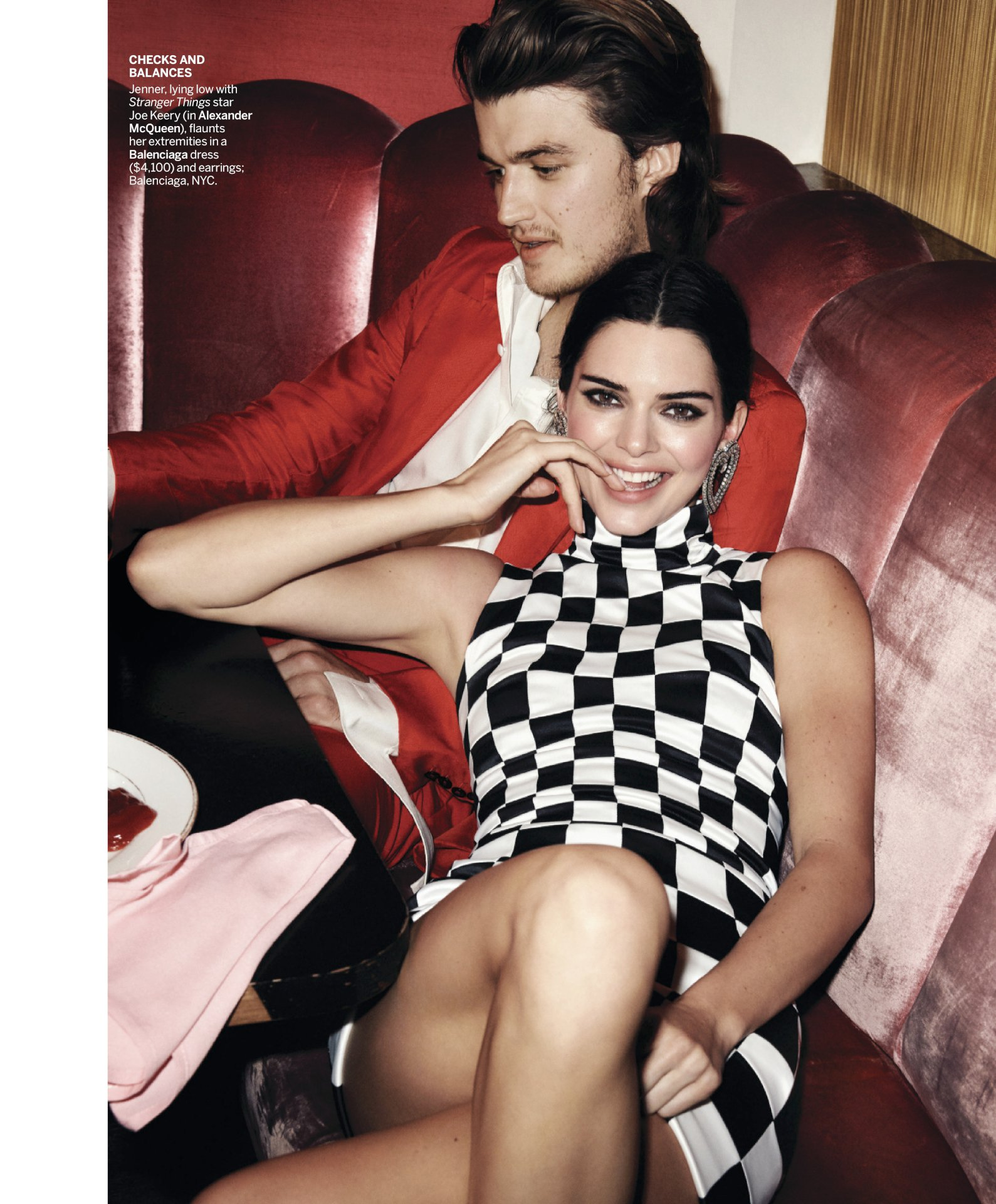 Kendall Jenner & Emily Ratajkowski