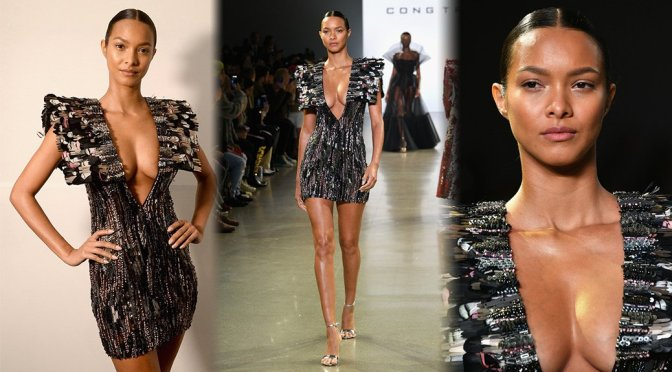 Lais Ribeiro – Cong Tri Fashion Show in New York