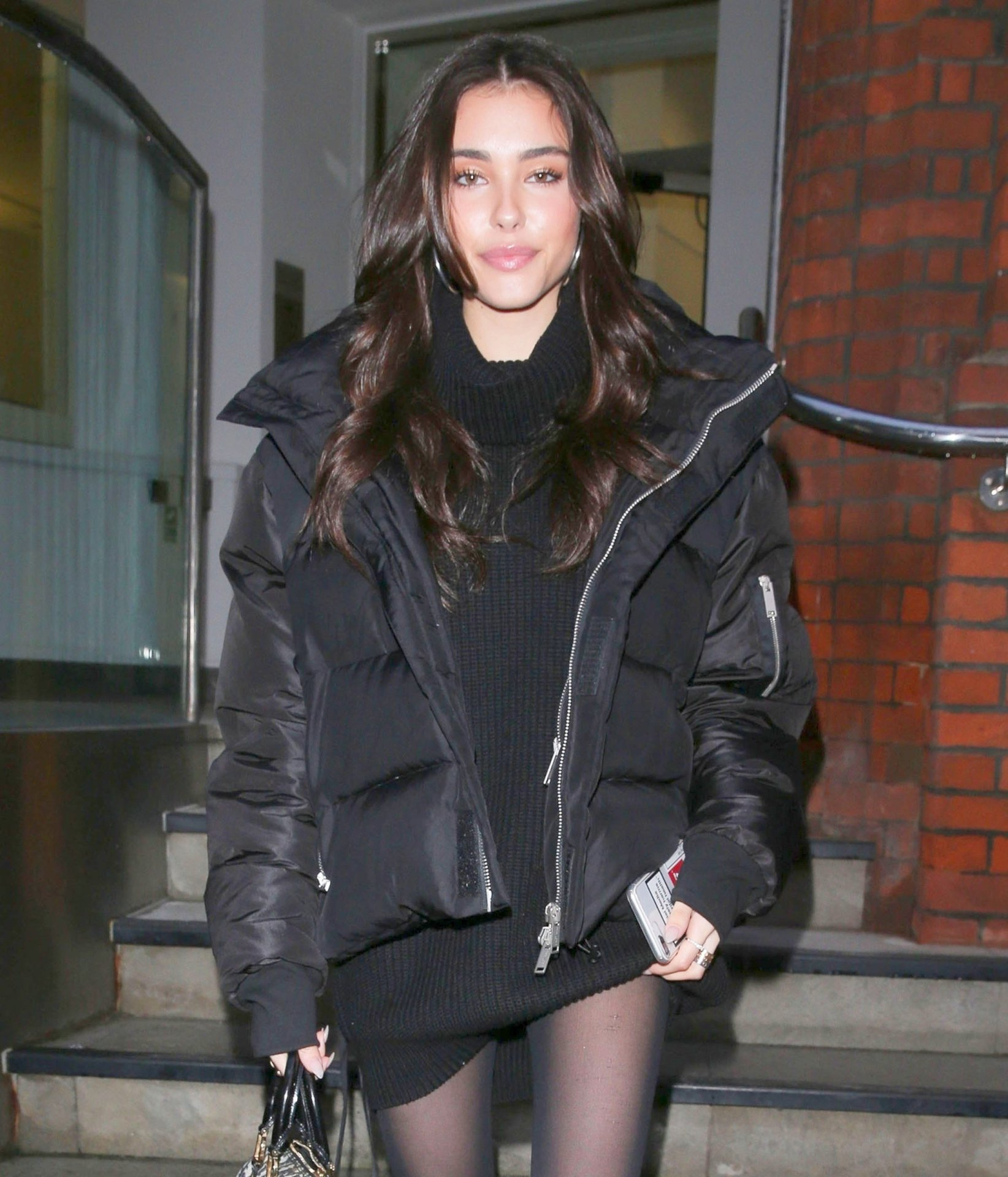 Madison Beer – Sexy Leggy Candids in London