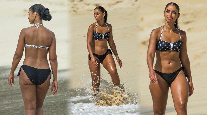 Mya – Bikini Candids in Barbados