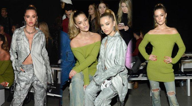 Delilah Belle Hamlin & Nina Agdal – John John Fashion Show in New York