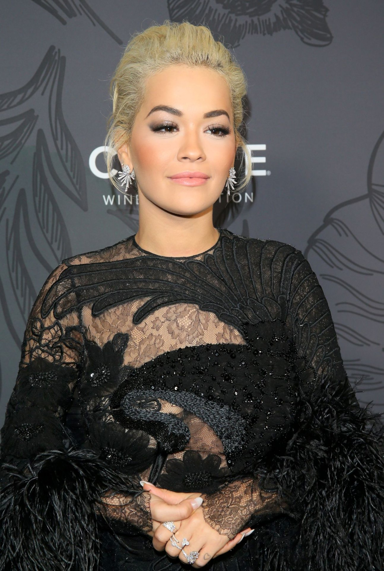 Rita Ora Hot In Black