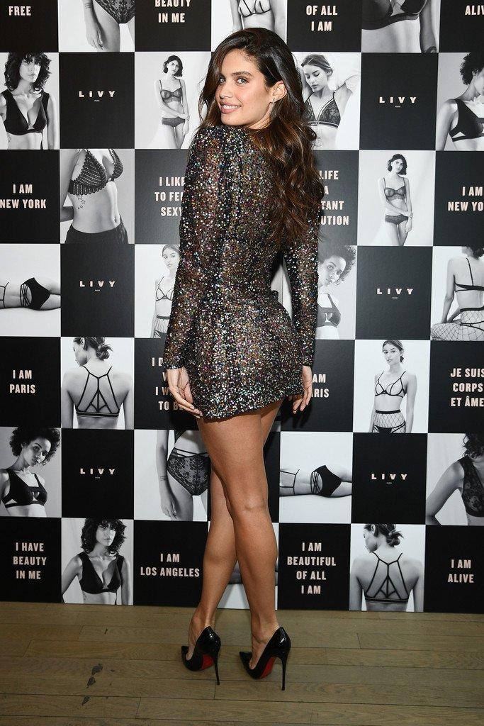 Sara Sampaio Sexy Dress