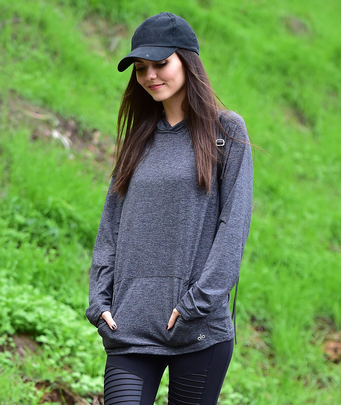 Victoria Justice Hiking