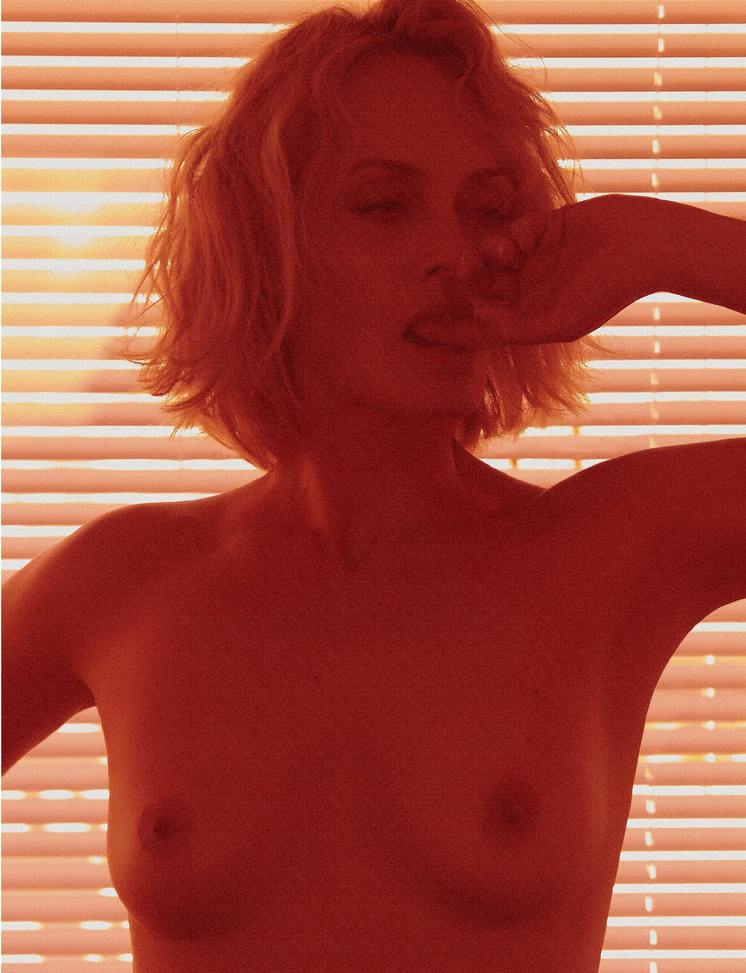 Amber Valletta – Lui Magazine Topless Photoshoot (Spring 2019)