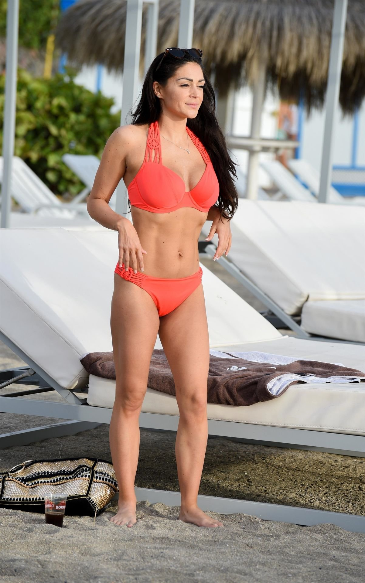 Casey Batchelor – Bikini Candids in Tenerife