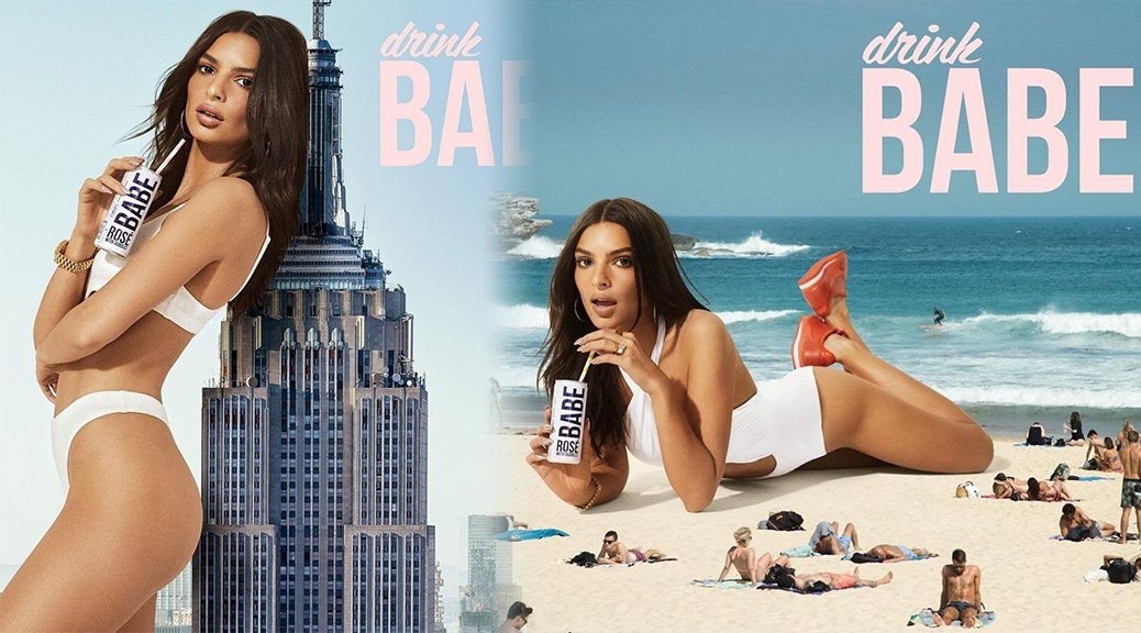 """Emily Ratajkowski - """"Drink Babe"""" Bikini Photoshoot"""