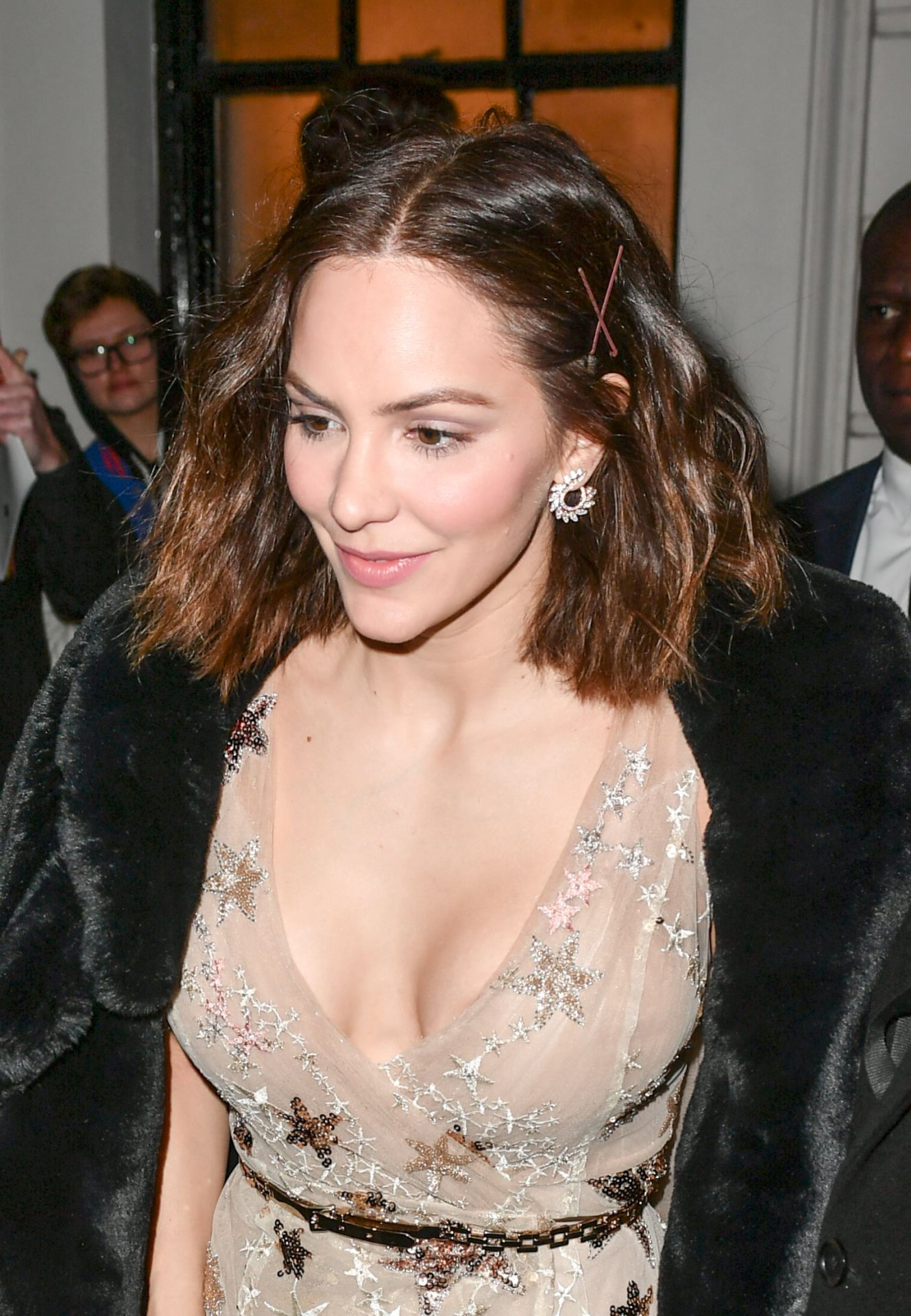Katharine McPhee - Sexy Cleavage Candids in London | Hot