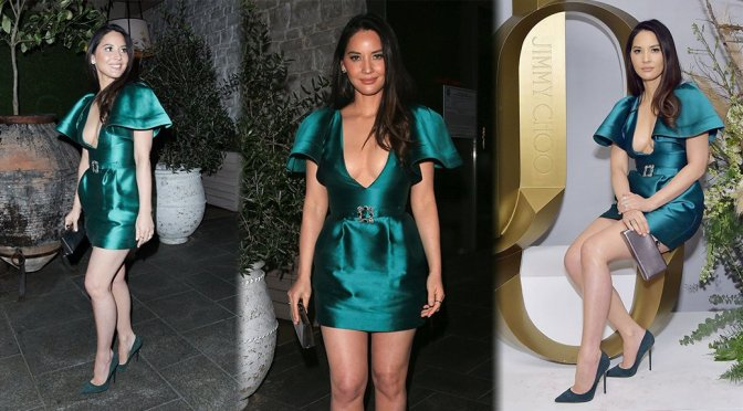 Olivia Munn – The Hollywood Reporter and Jimmy Stylists Dinner in Beverly Hills