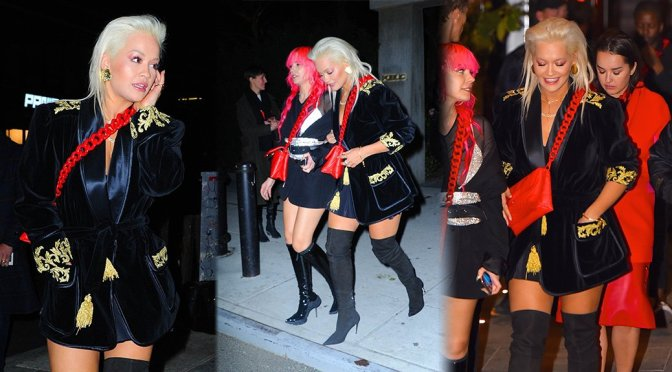 Rita Ora – Sexy Candids in NEw York