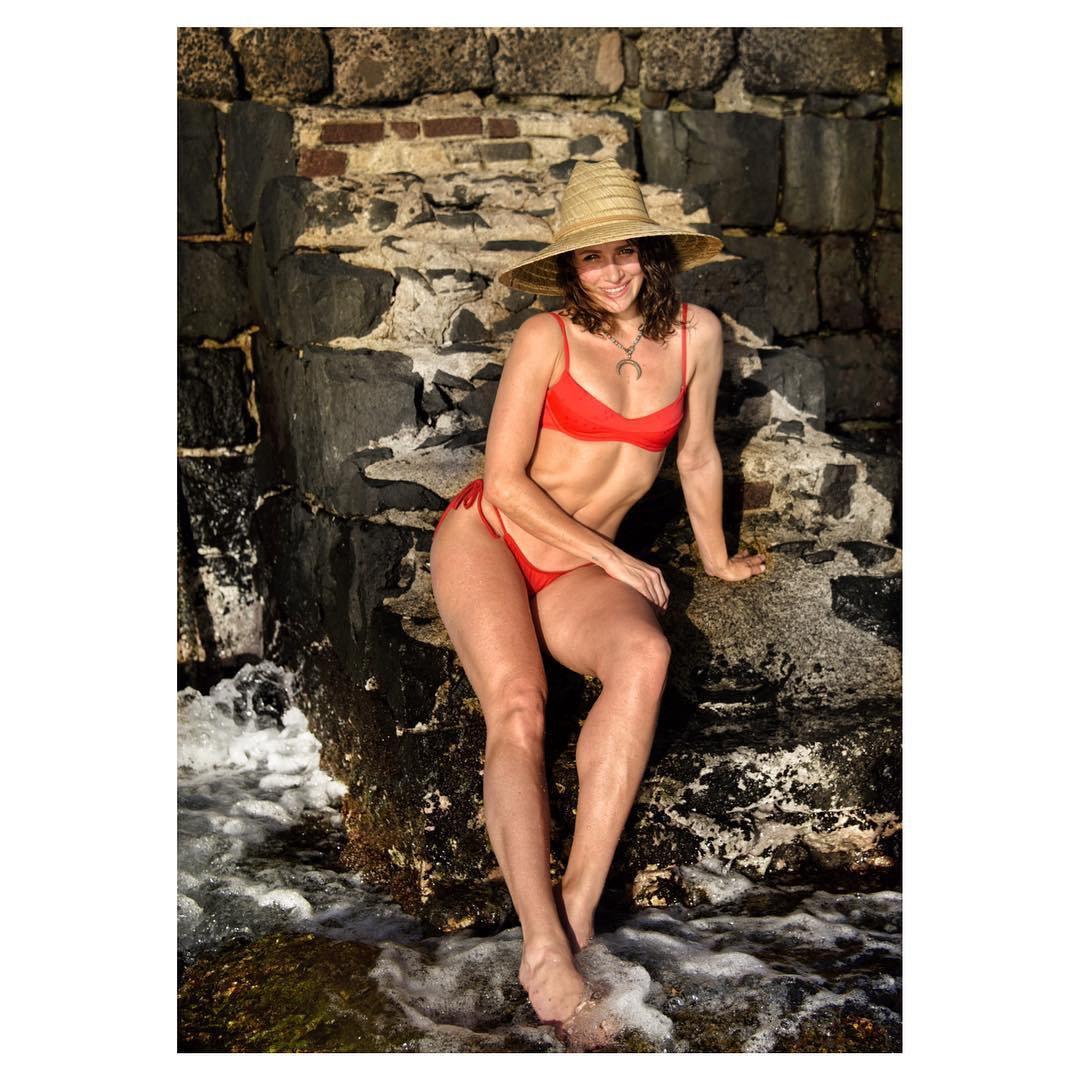 Shantel Vansanten Red Bikini