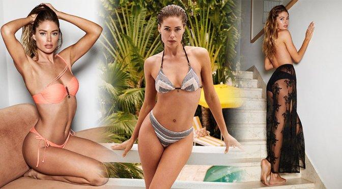 Doutzen Kroes – Hunkemoller Doutzen Summer Stories 2019 Bikini Photoshoot